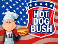 hot dog george bush